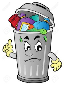 9933086-Angry-cartoon-trash-can-illustration--Stock-Vector-garbage